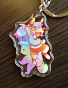 Pom & Grimbelle Double-Sided Charm