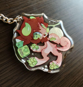 Melon Ramune Clair Double-Sided Charm